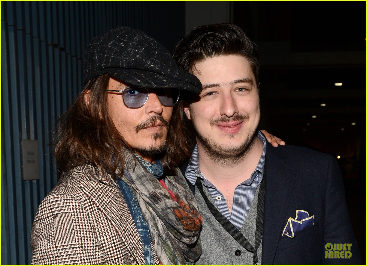 johnny depp marcus mumford grammys musicares person of the year event 042807885