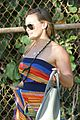 hilary duff hawaii sunset stroll 06