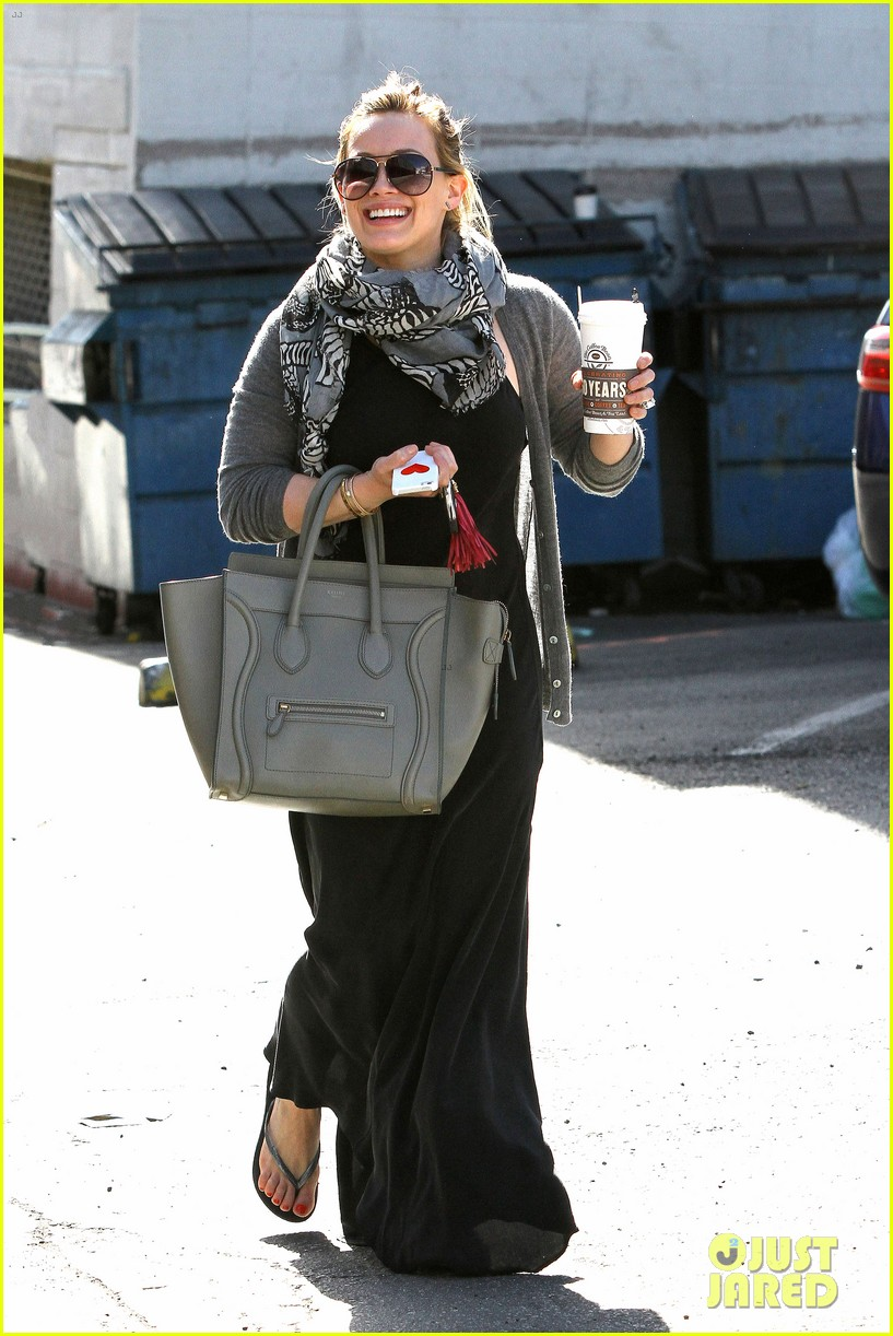hilary duff post pilates pretty 01