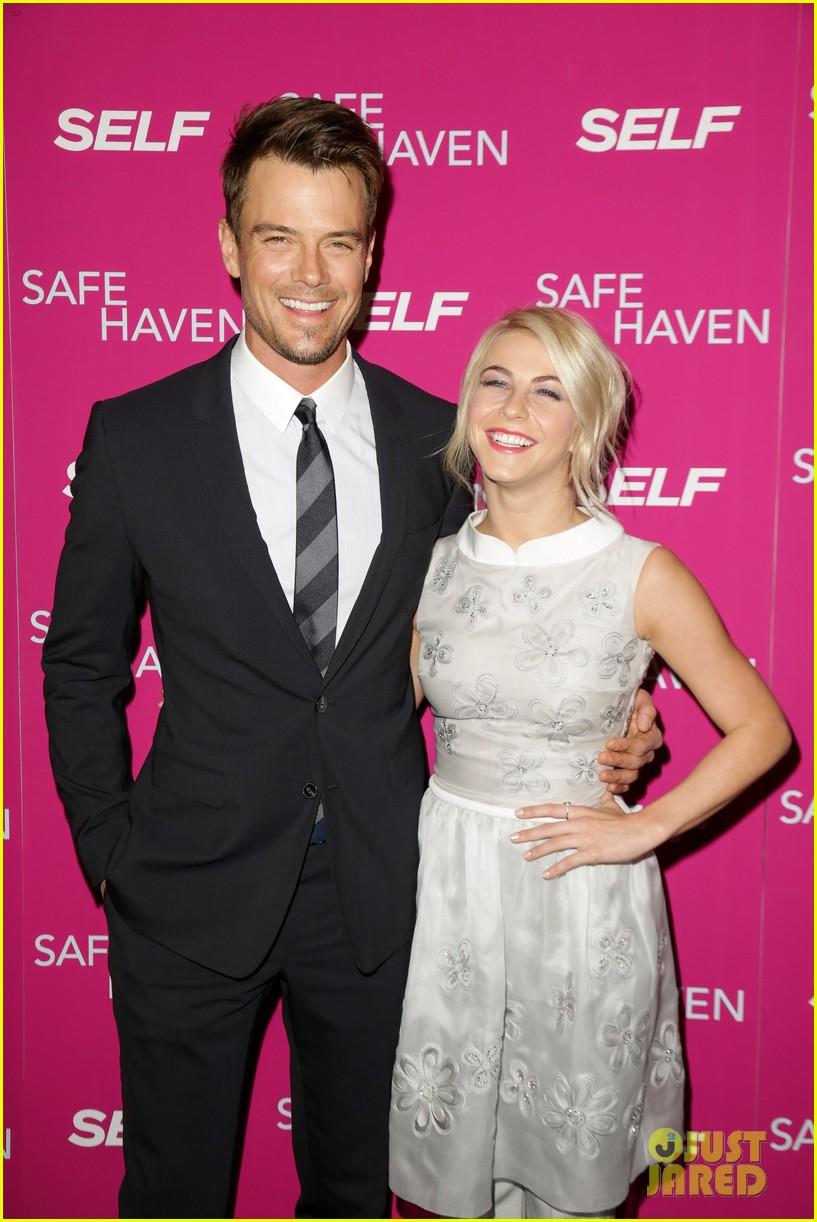 josh duhamel julianne hough safe haven ny premiere 04