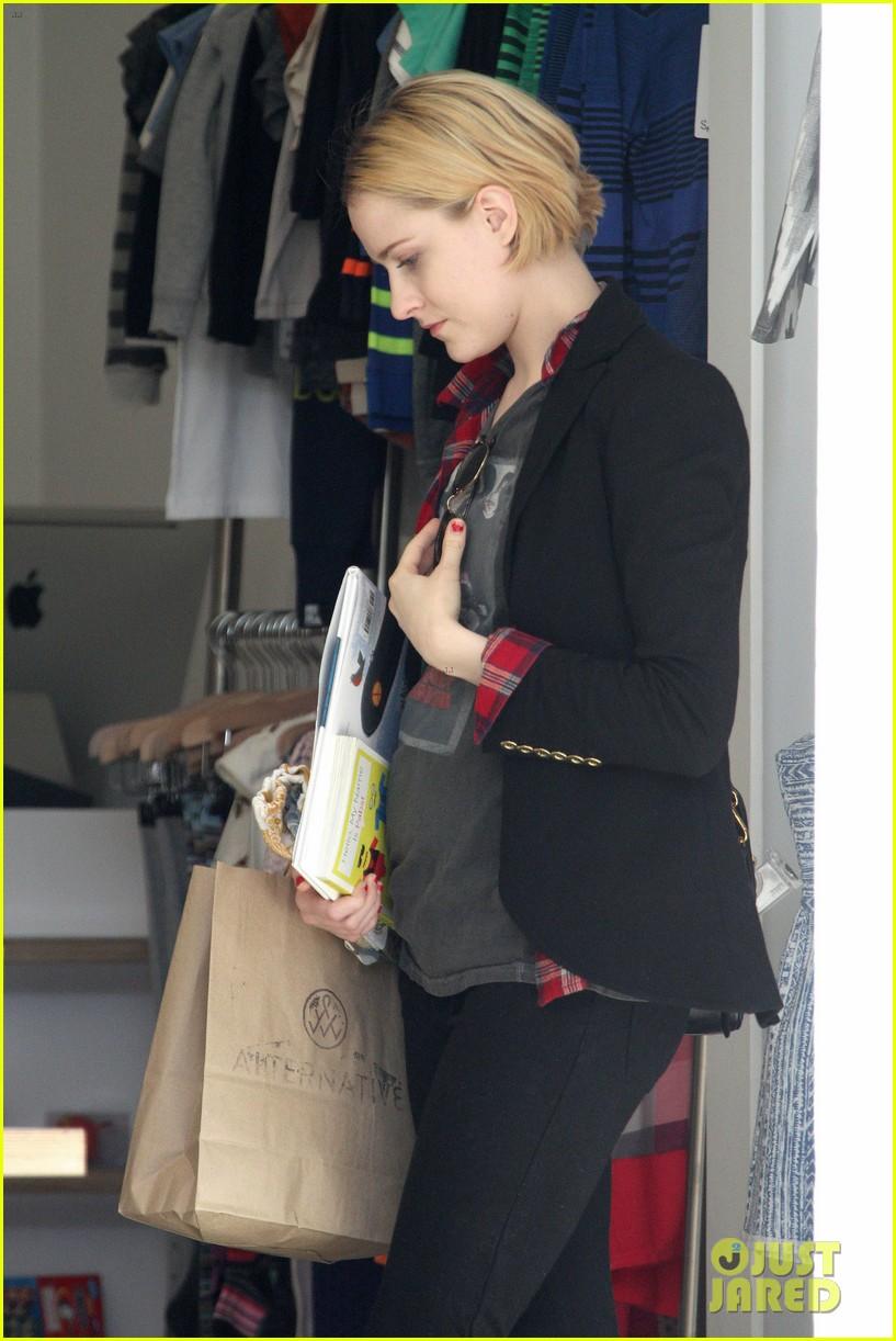 evan rachel wood jamie bell baby shopping 11