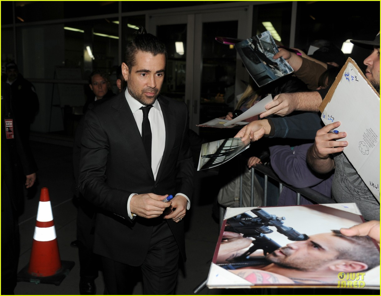 colin farrell noomi rapace dead man down hollywood premiere 04