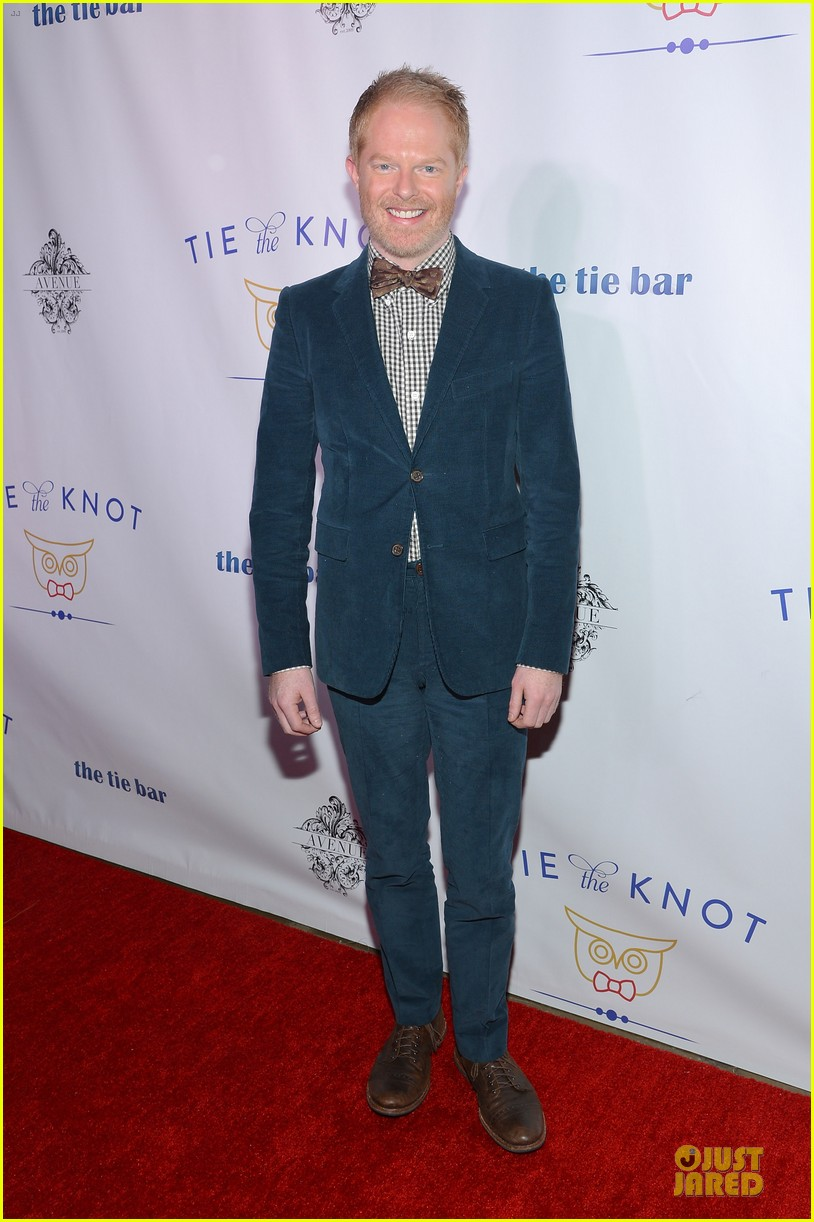 jesse tyler ferguson justin mikita tie the knot spring collection launch 01