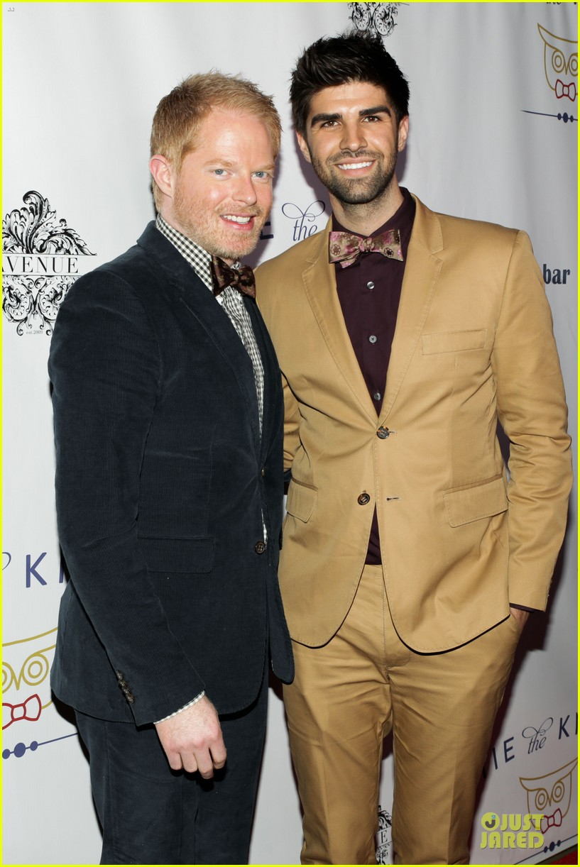 jesse tyler ferguson justin mikita tie the knot spring collection launch 02