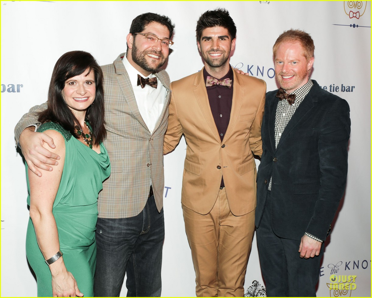jesse tyler ferguson justin mikita tie the knot spring collection launch 03