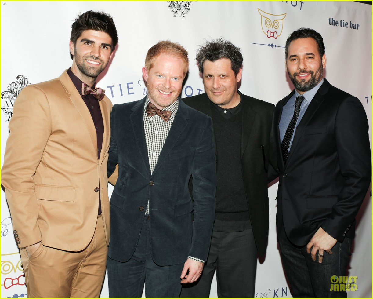 jesse tyler ferguson justin mikita tie the knot spring collection launch 05