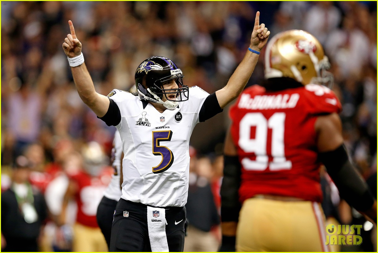 joe flacco super bowl mvp 2013 for baltimore ravens 06