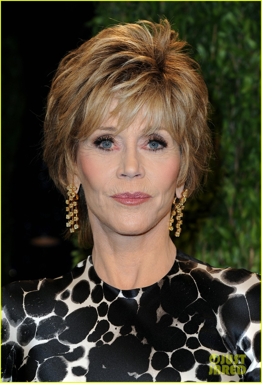 Jane Fonda Vanity Fair Oscars Party 2013