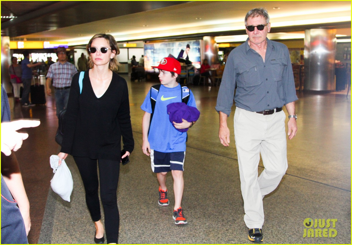 harrison ford family vacation after star wars 7 news 012813648