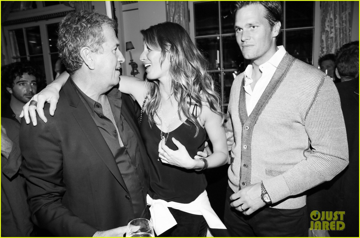 gisele bundchen tom brady mario testino exhibit party 082818661