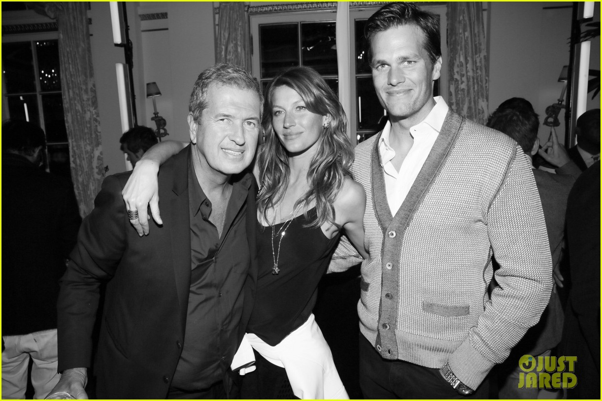 gisele bundchen tom brady mario testino exhibit party 10