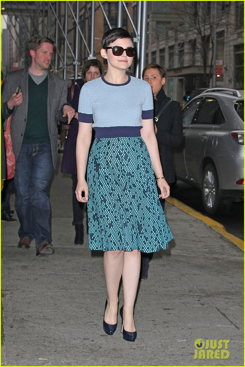 ginnifer goodwin tapes rachael ray jamie chung meets fans 01