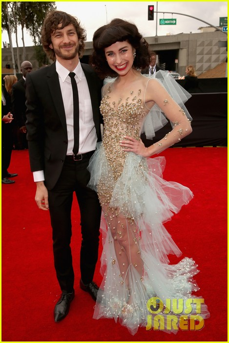 gotye grammys 2013 red carpet with kimbra 062809062