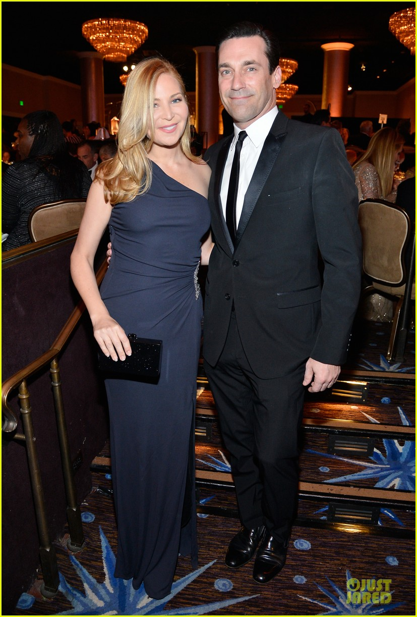 jon hamm jennifer westfeldt costume designers guild awards couple 01