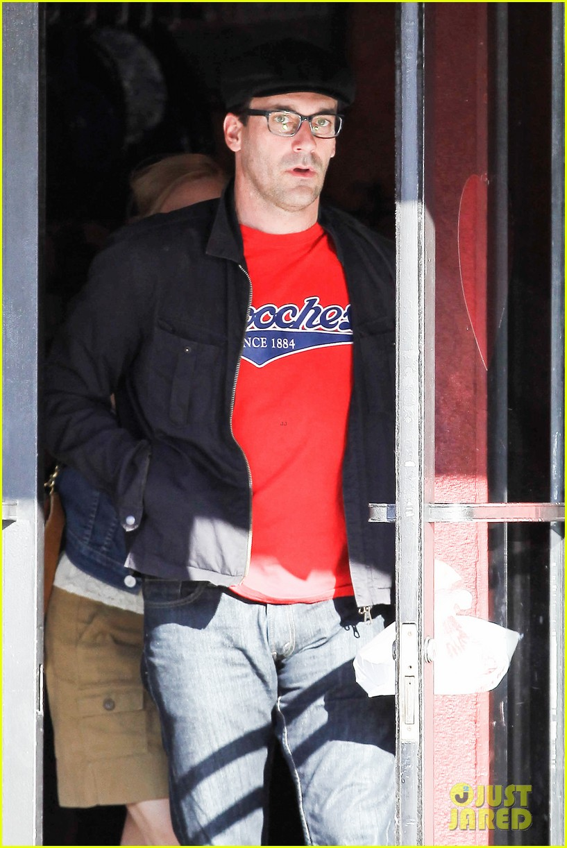 jon hamm jennifer westfeldt valentines day lunch date 02