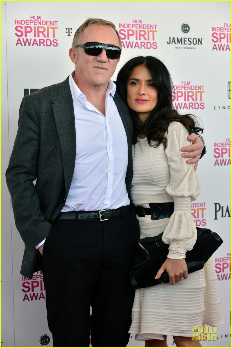 salma hayek francois henri pinault independent spirit awards 2013 04