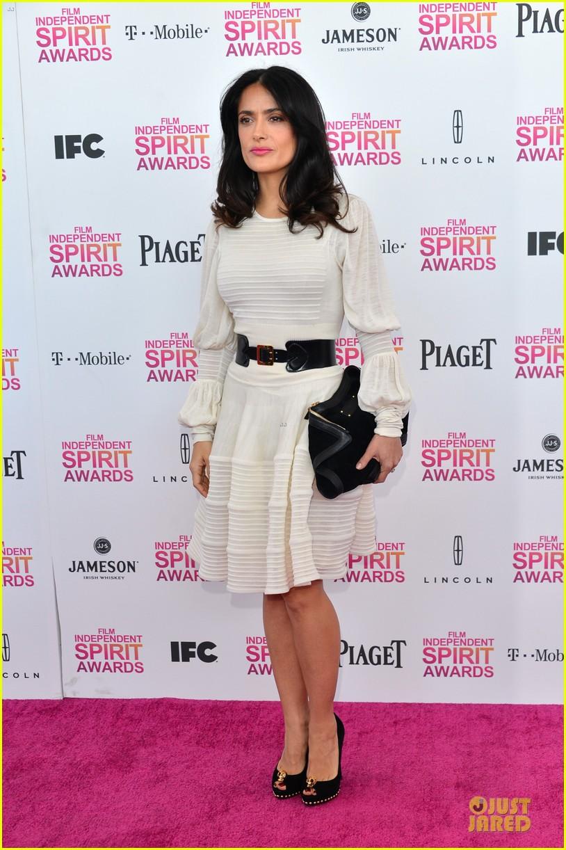salma hayek francois henri pinault independent spirit awards 2013 13