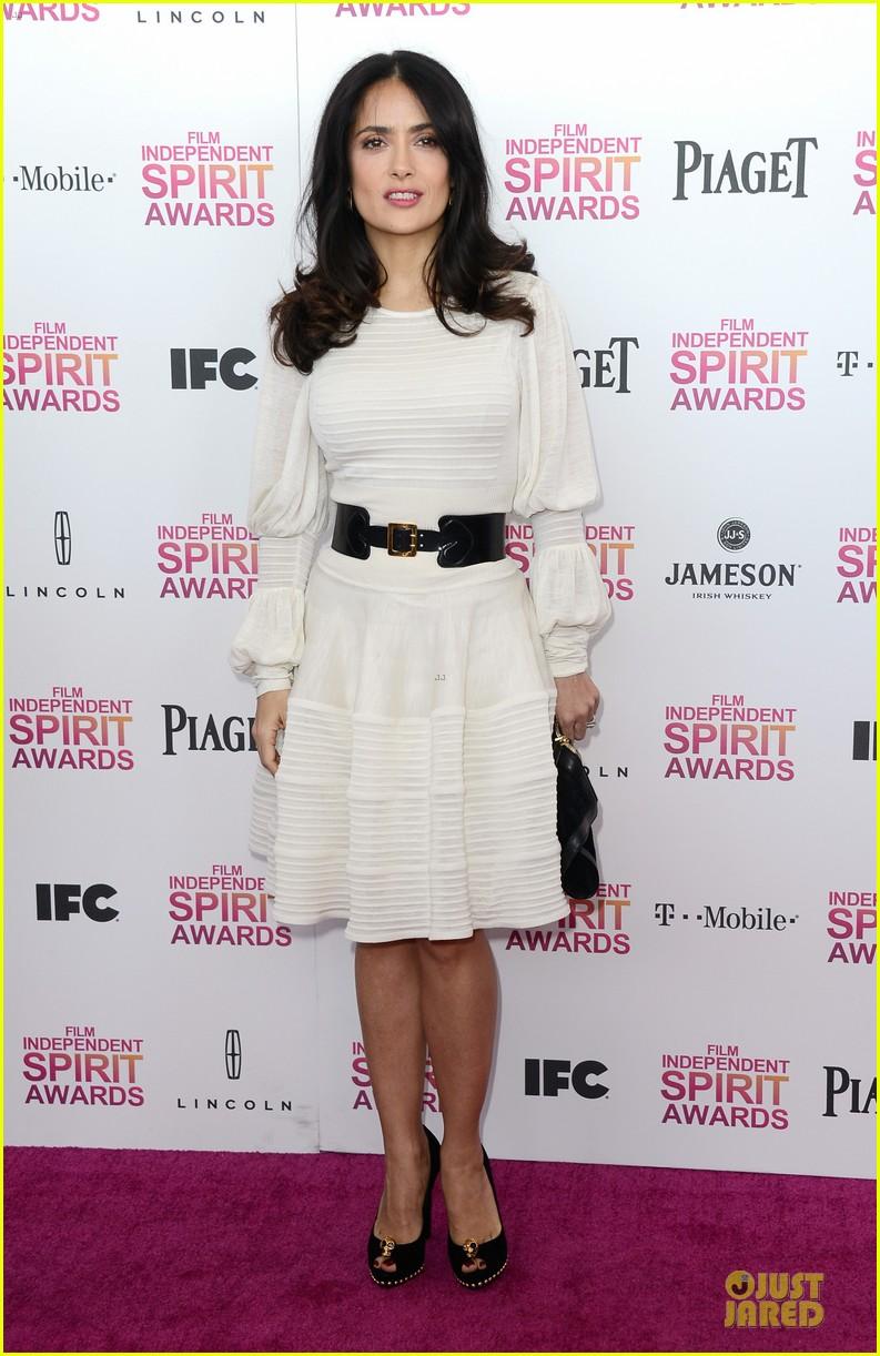 salma hayek francois henri pinault independent spirit awards 2013 15