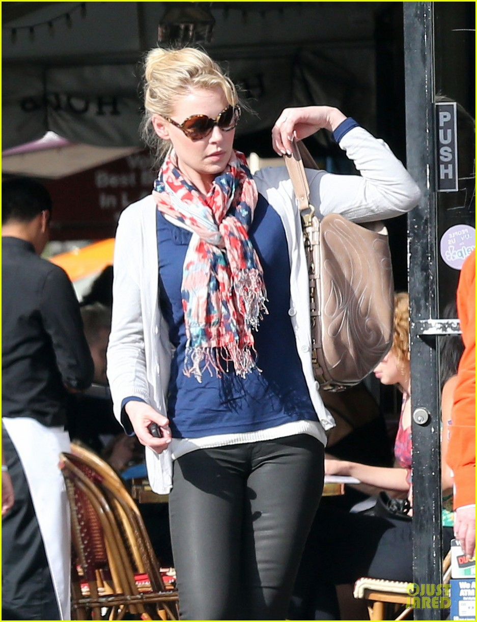katherine heigl patrick wilson figaro cafe lunch 072813559
