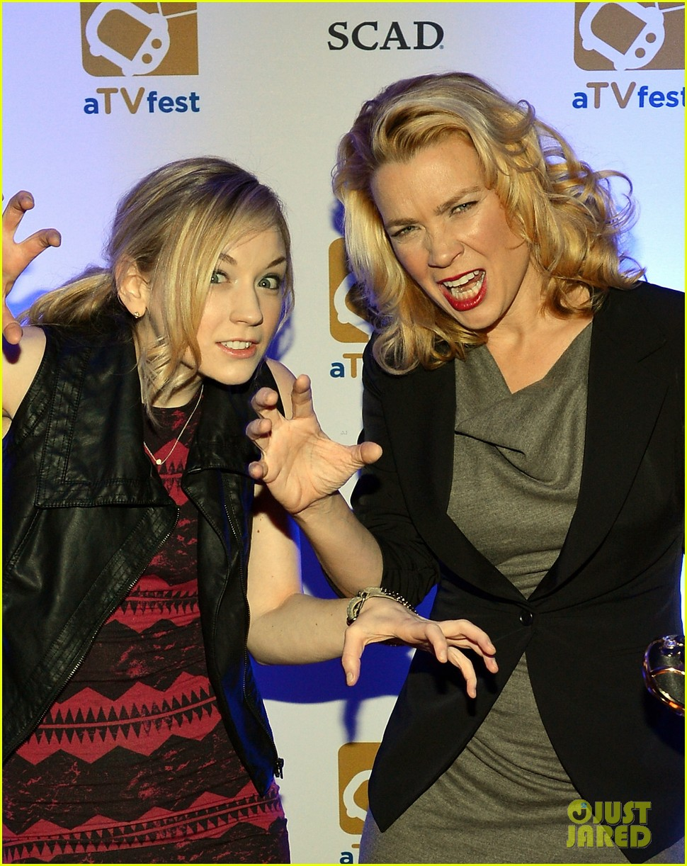 laurie holden atvfest with emily kinney 022814250