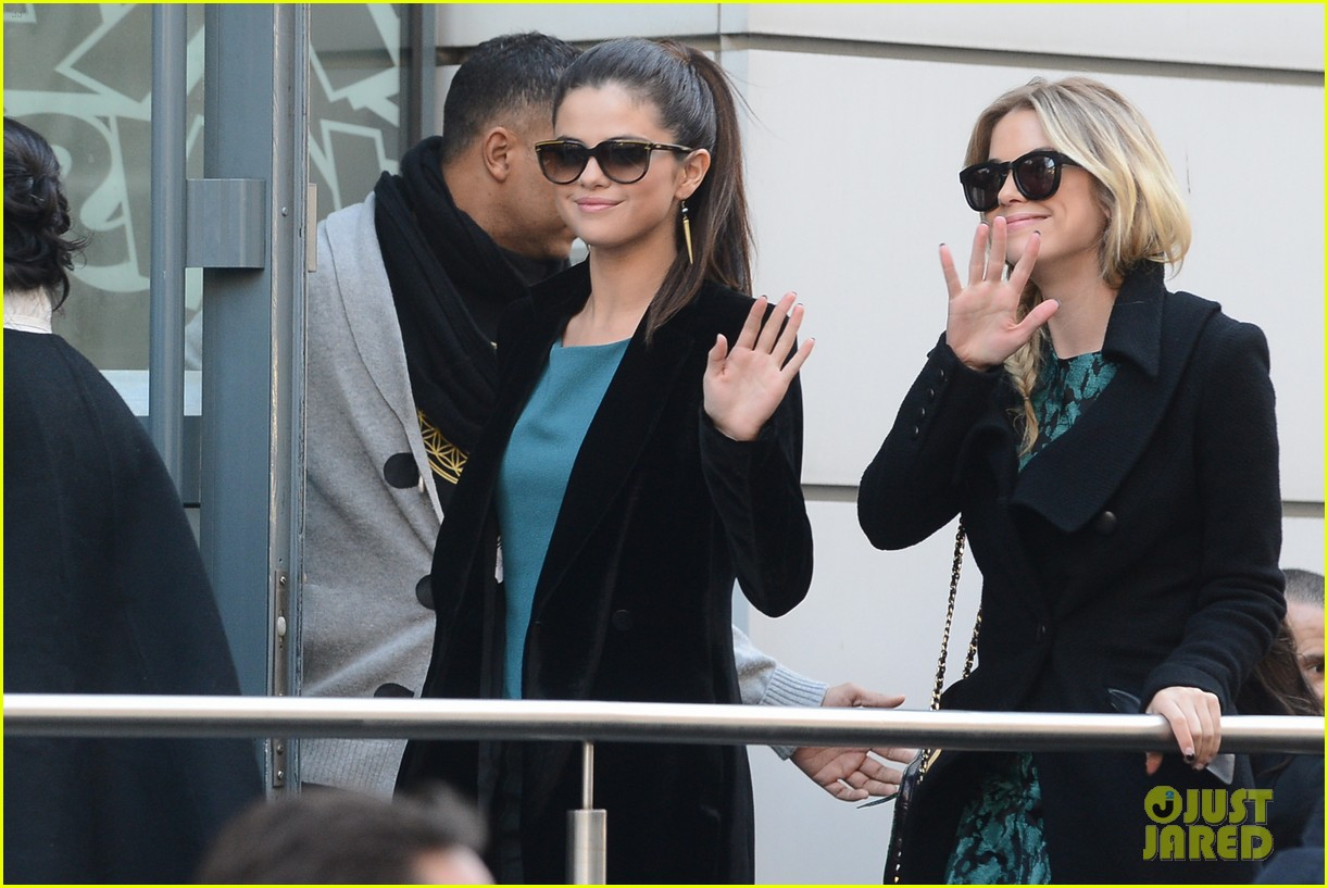 vanessa hudgens selena gomez paris radio station stop 03