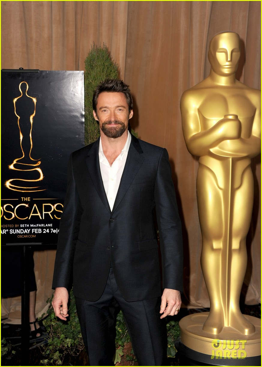 hugh jackman bradley cooper oscar nominees luncheon 2013 07