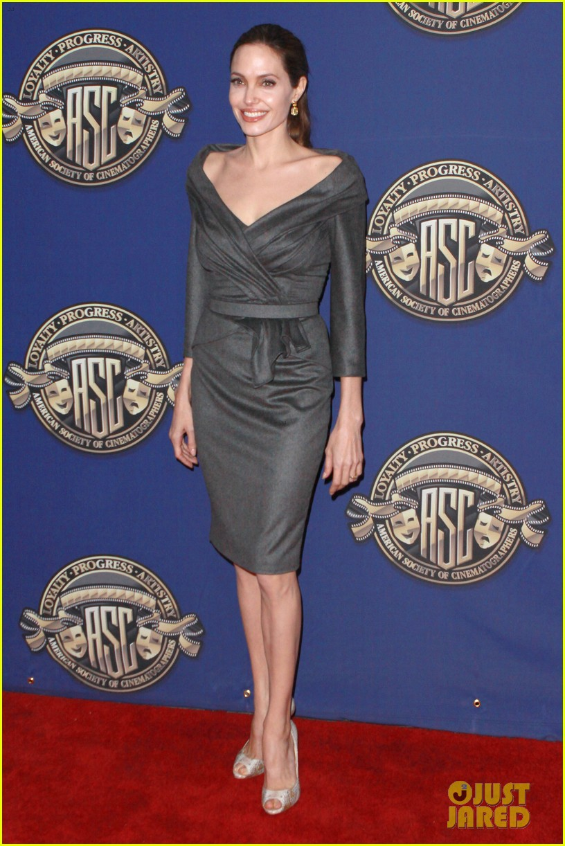 angelina jolie american society of cinematographers awards 012809850