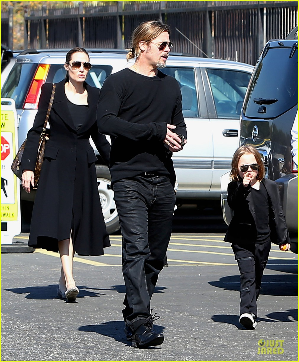 angelina jolie brad pitt valentines day with the twins 01