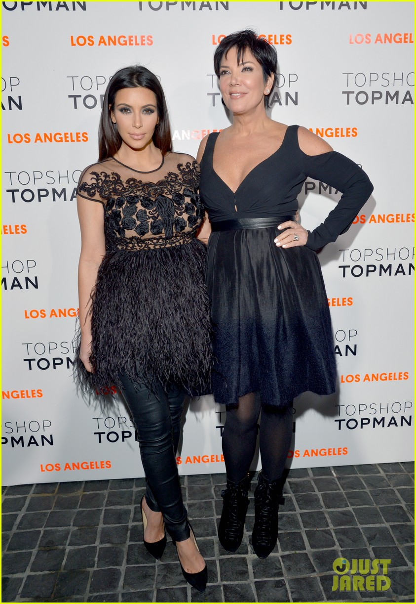 kim kardashian topshop topman opening party 11