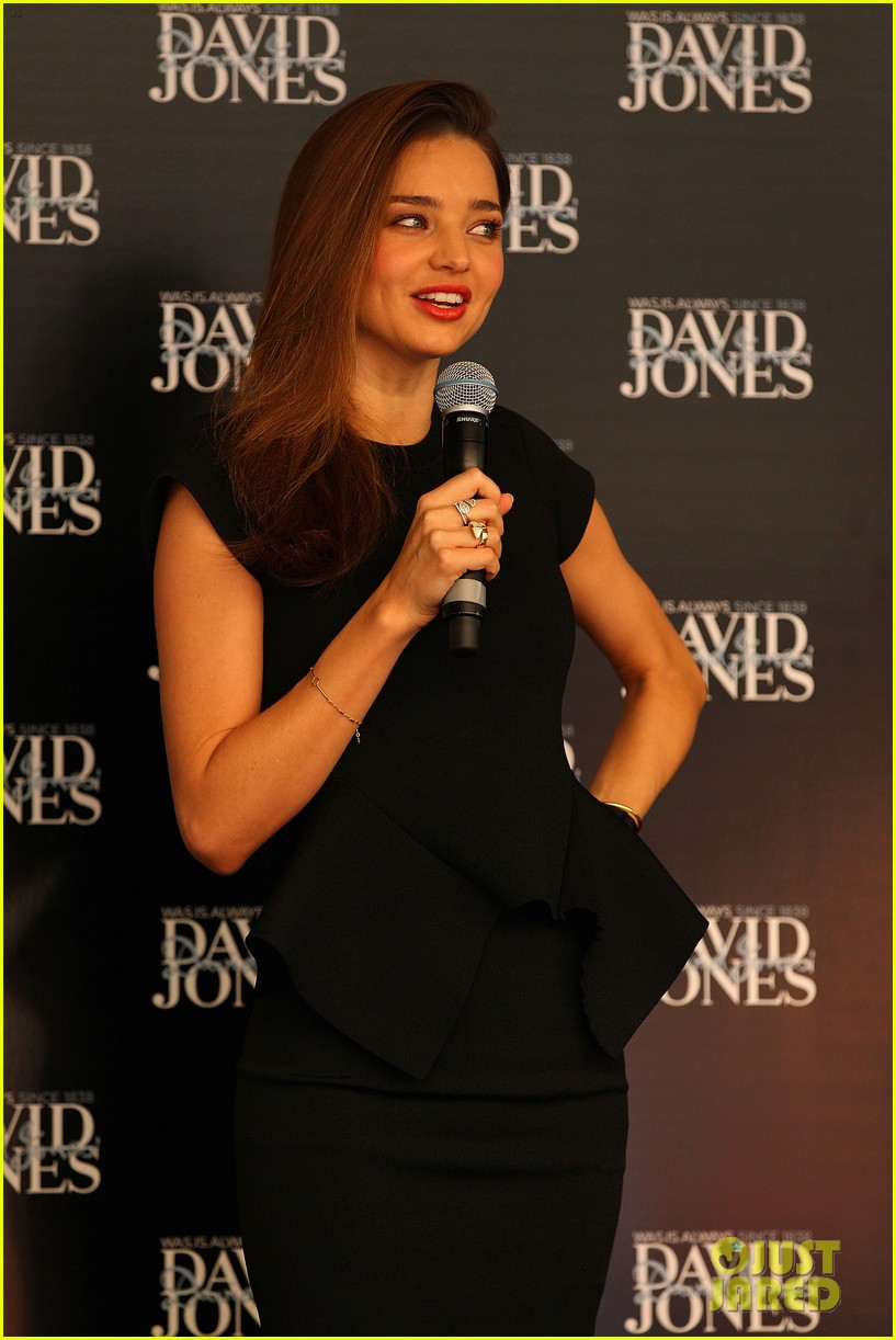 miranda kerr earcuff at david jones fashion workshop 082806982