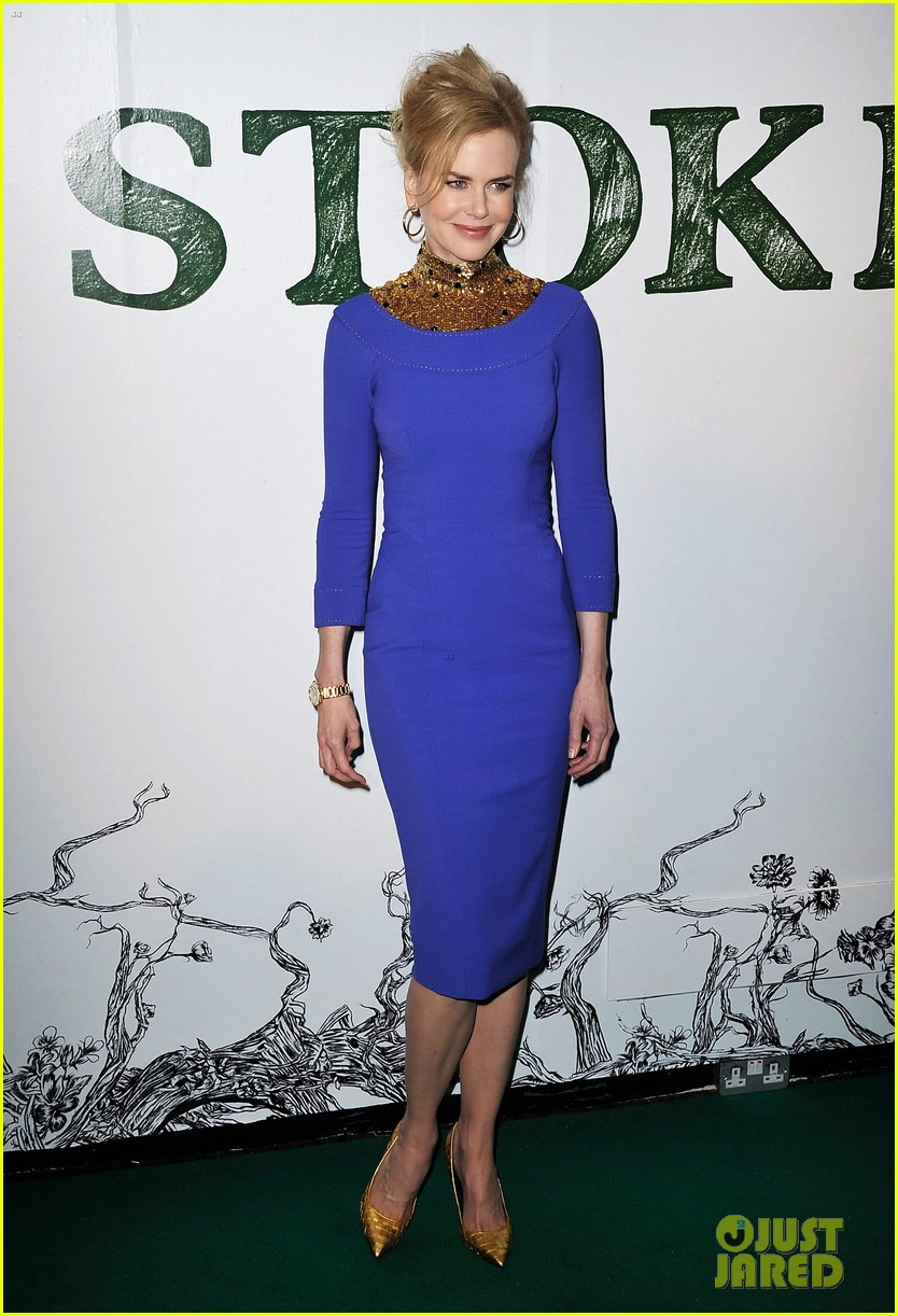 nicole kidman mia wasikowska stoker london screening 152814039
