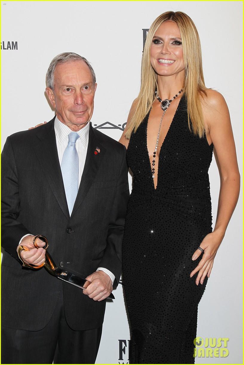 heidi klum anne v amfar new york gala 2013 20