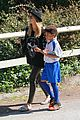 heidi klum martin kirsten pre oscars soccer practice 11