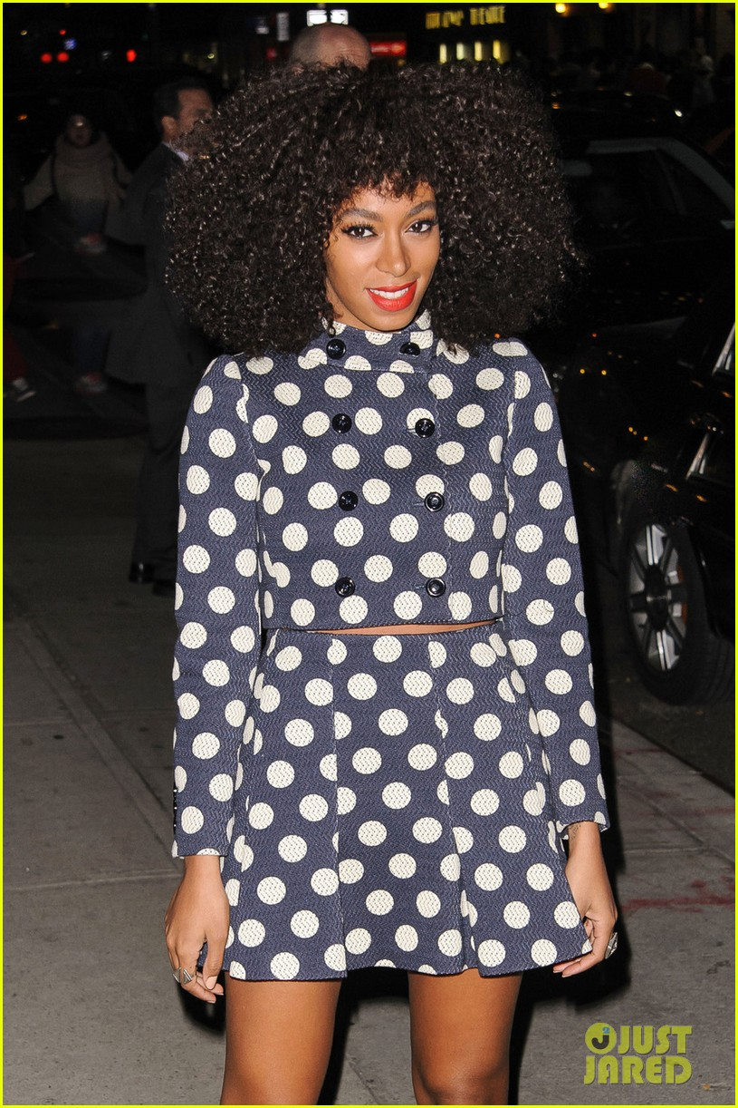 solange knowles dont let me down live on david letterman 01