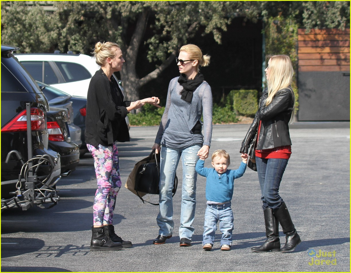 diane kruger houstons lunch with january jones xander 042814585