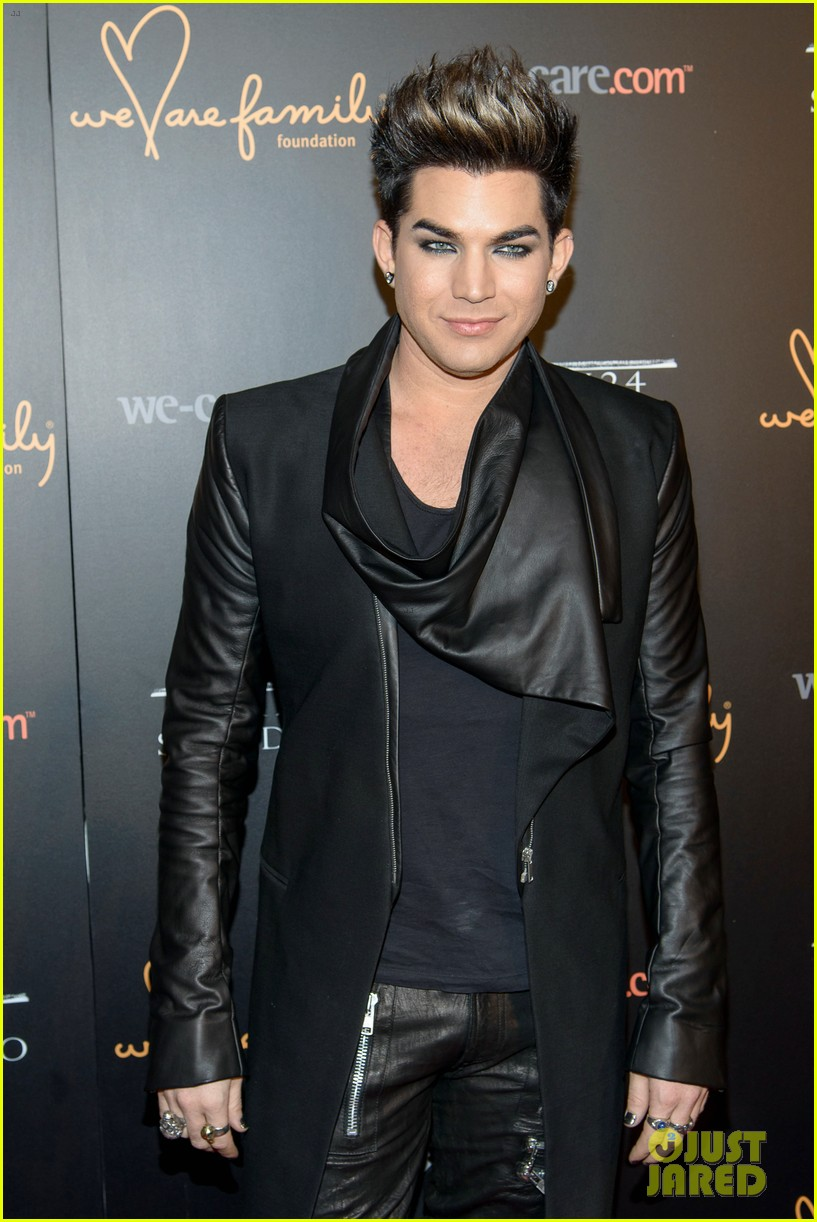 adam lambert we are family foundation gala 02