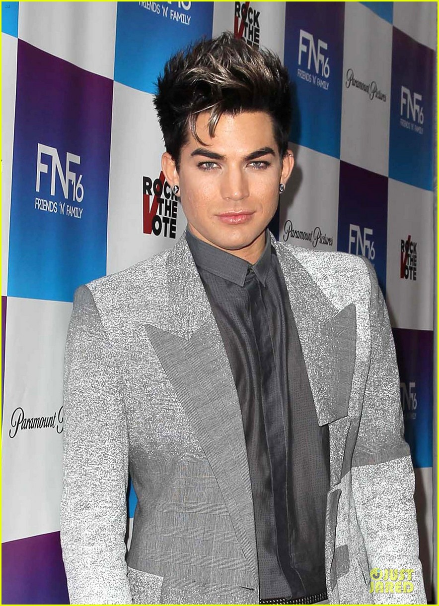 adam lambert pre grammy friends n family event 04