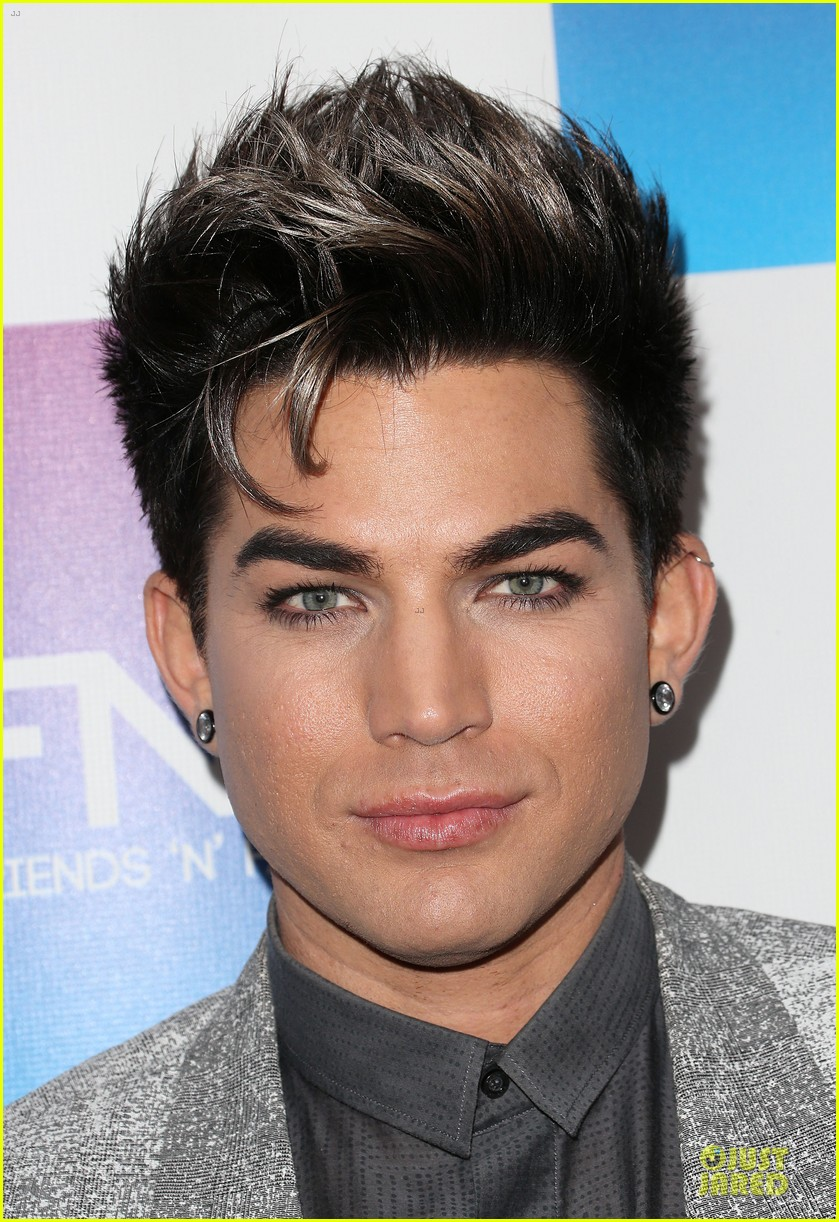 adam lambert pre grammy friends n family event 06