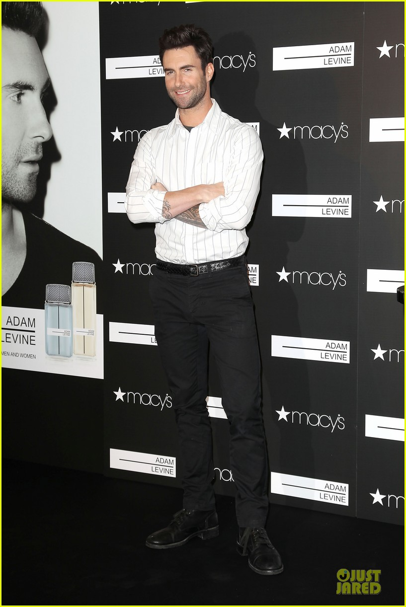 adam levine fragrance launch in new york city 01