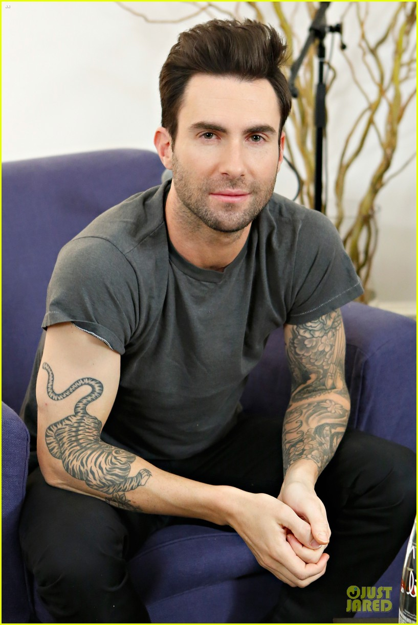 adam levine fragrance launch in new york city 19