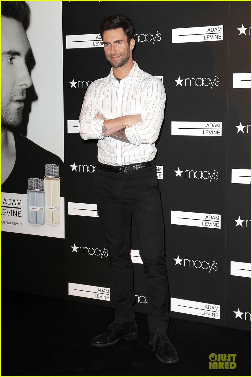 adam levine fragrance launch in new york city 37
