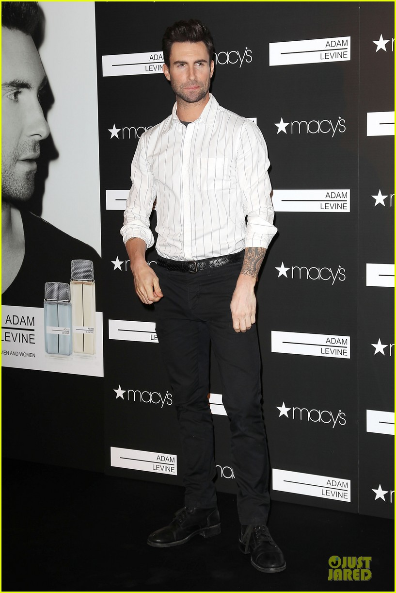 adam levine fragrance launch in new york city 38