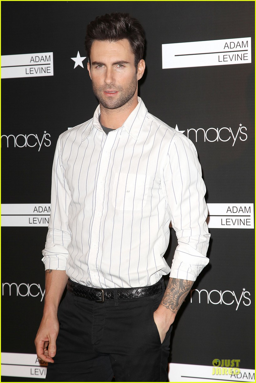 adam levine fragrance launch in new york city 40