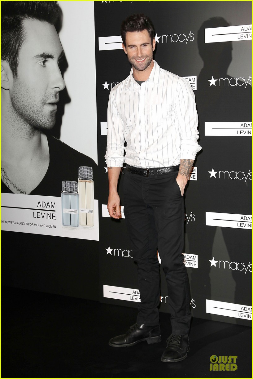 adam levine fragrance launch in new york city 412813239
