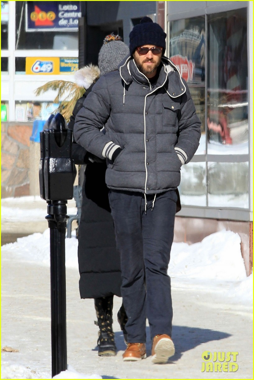 blake lively ryan reynolds snowy weekend in canada 232809749