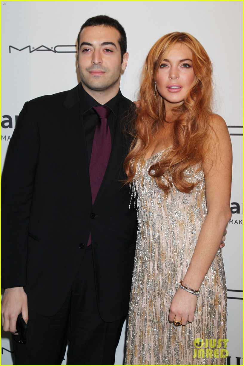 lindsay lohan ashley greene amfar new york gala 2013 09