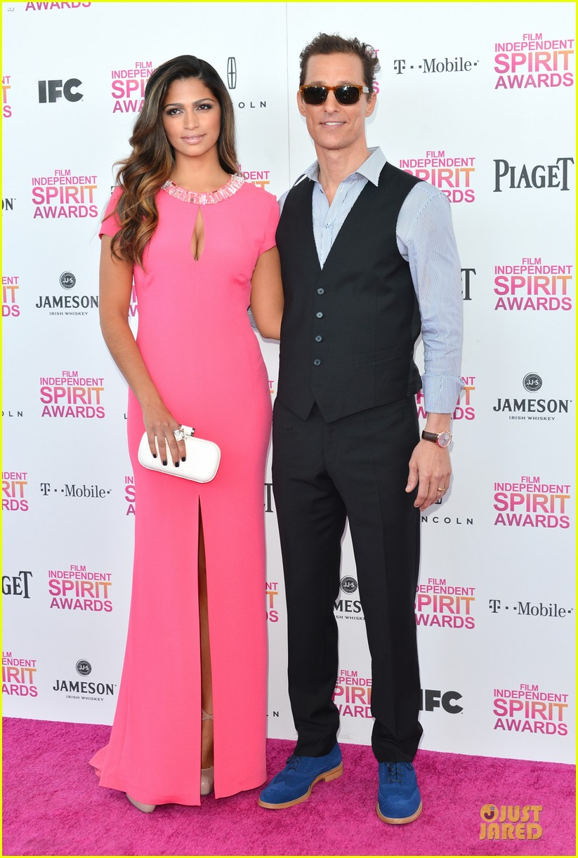 matthew mcconaughey camila alves independent spirit awards 2013 03