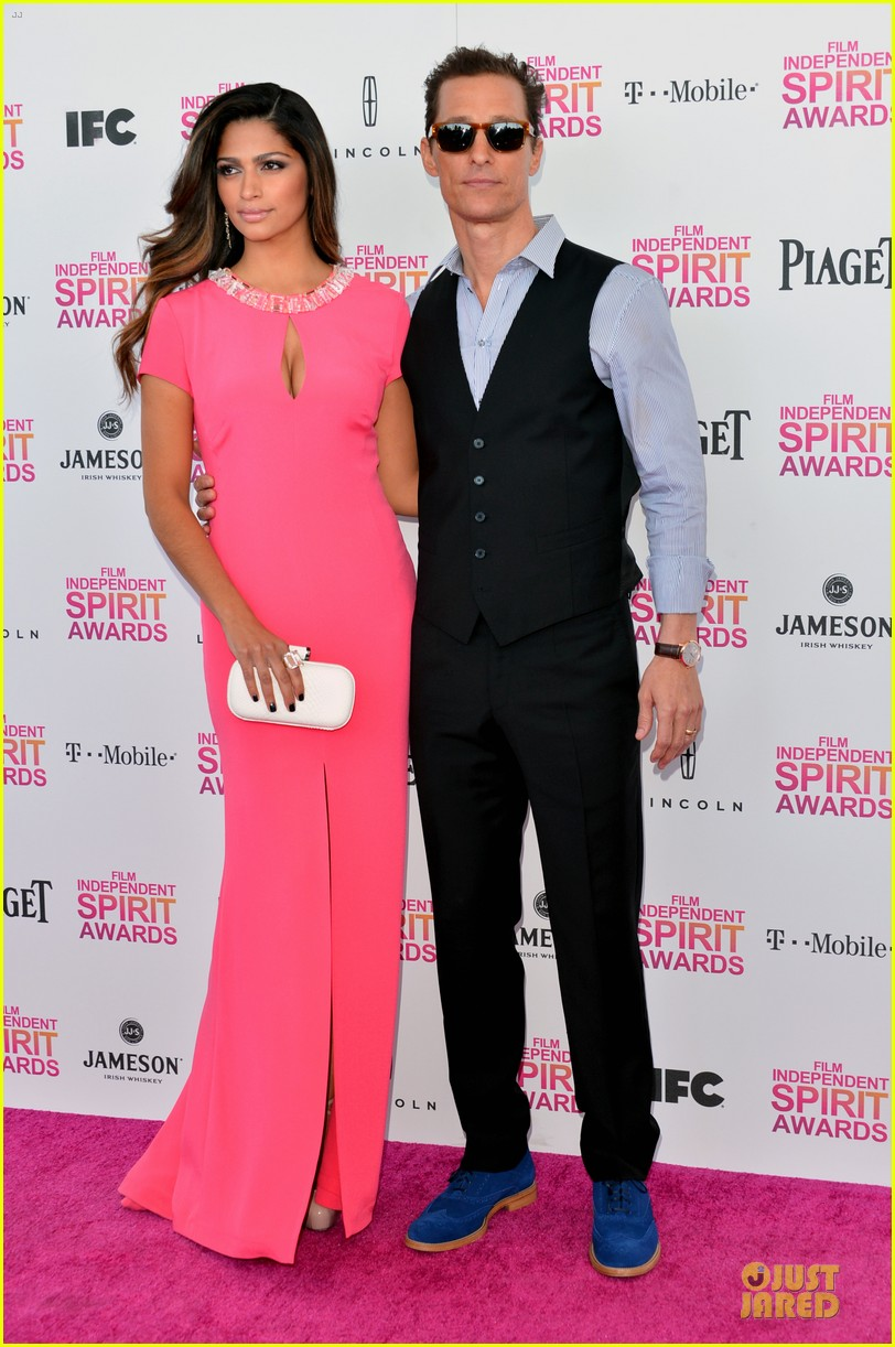 matthew mcconaughey camila alves independent spirit awards 2013 05