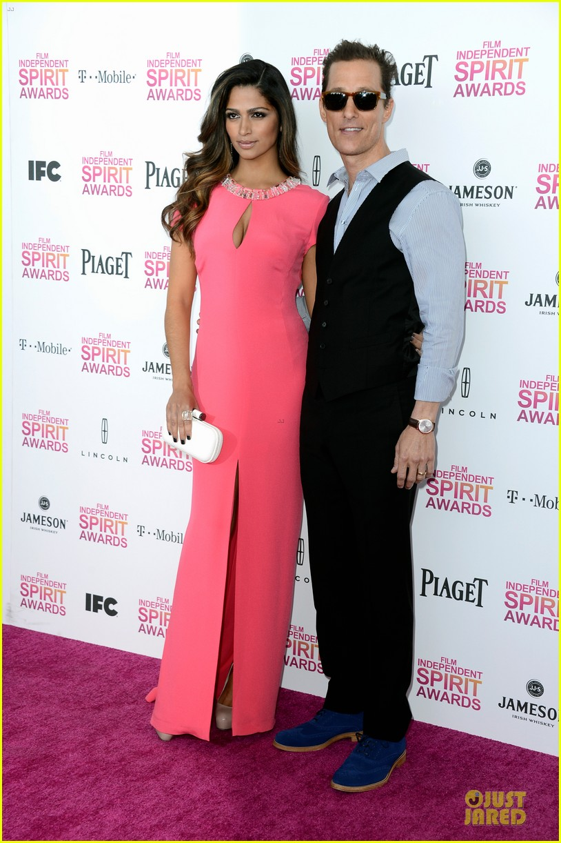 matthew mcconaughey camila alves independent spirit awards 2013 12