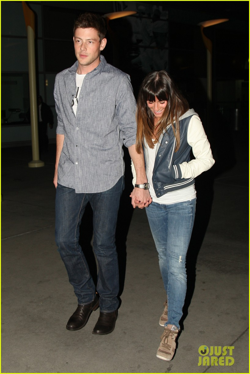 lea michele cory monteith arclight hollywood lovers 04